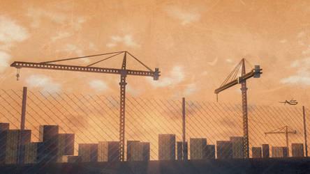 World Under Construction 2 by anasofoz