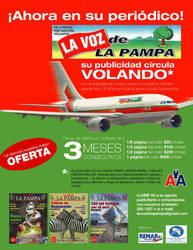 voz de la pampa flyer by mrbobcr