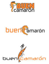 buen camaron logos by mrbobcr