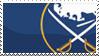 Buffalo Sabres Stamp by Skokut