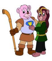 Sir Cubbi and Lady Tavi of Gummadoon by UlisaBarbic