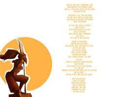 (Legend of Zelda) Gerudo Valley - Original Lyrics by Emmierald