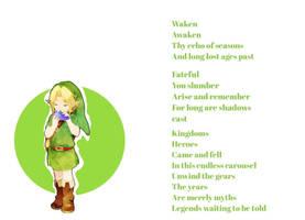 (Legend of Zelda) Song of Time - Original Lyrics by Emmierald