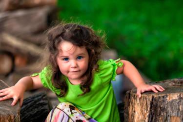 Little Troublemaker by mjrusche
