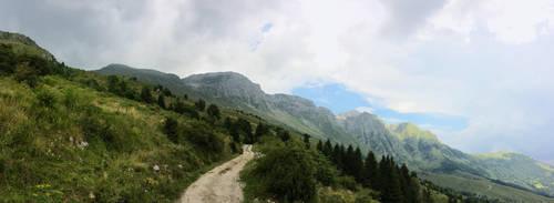 Julian Alps by LeonTyberMatthews
