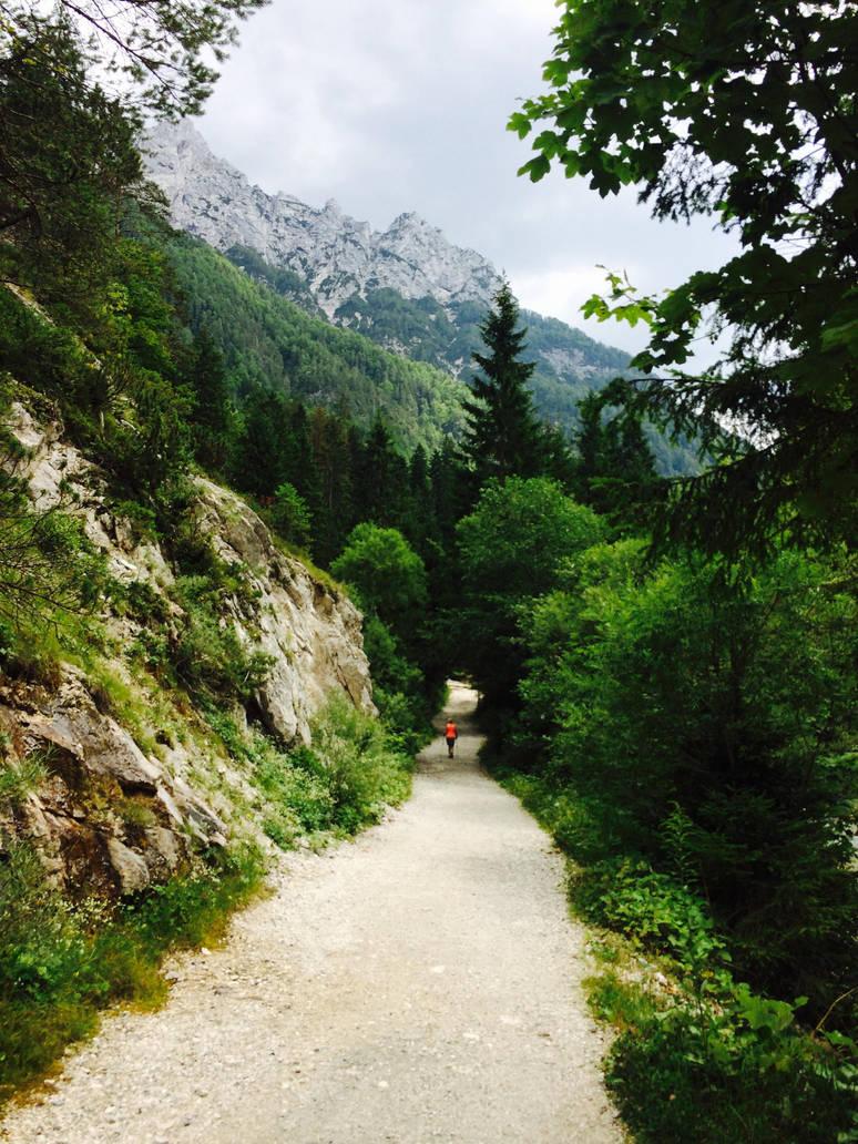 River Pisnica Path by LeonTyberMatthews