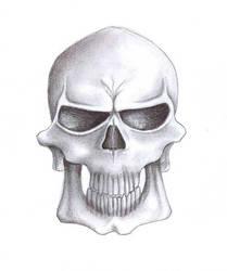 Erik the evil skull by mandragon