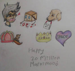 Markiplier 20 mill by BrownieSeaSheep