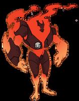 Omega Heatblast by MrGreenlight