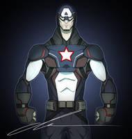Captain America by MrGreenlight