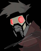Star-Lord simplified by MrGreenlight