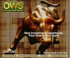 Occupy Wall Street by twistedfunk