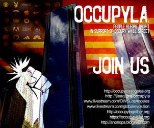 Occupy La by twistedfunk