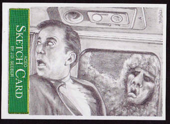 ACEO Sketch Card TWZone27 by Seebervision