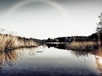 Rainbow @ Virginia Water by bullispace