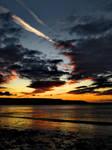 Fire in a Welsh Sky by bullispace