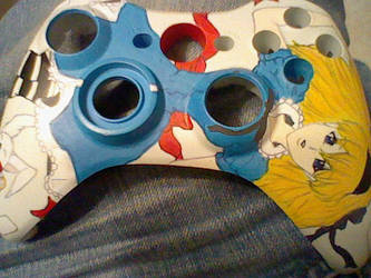 .: 360 custom controller :. by sexy-kat