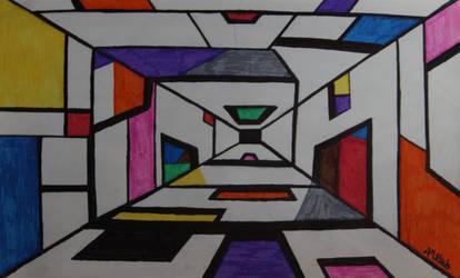 Untitled (Hallway [2014]) by Masterbananacat