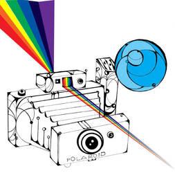 polaroid rainbow by orangefrute88