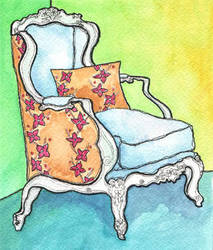 chair by orangefrute88