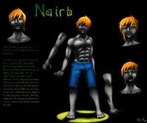 Ref Sheet- Nairb by MindOfGenius