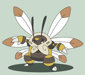 Bee King - by gullex by puka23