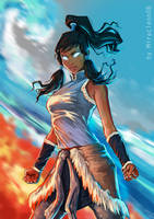 Korra by miracleon08 by MiracleON