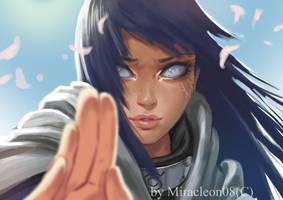 Hinata Hyuga by MiracleON