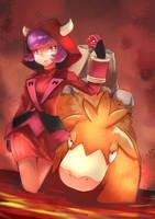 Pokemon Magma Courtney by JKLiew92