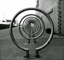 Bike Rack by Flamesofmercy