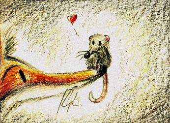 Vixen and rat by karpfinchen
