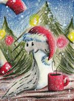 Christmas Slug by karpfinchen