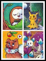 Pokemon - Gen 7 by karpfinchen