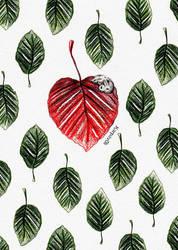 Heart Leaf by karpfinchen