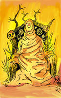 carcosa the yellow king. by MikeAngerhauser