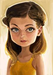 portrait by salahh
