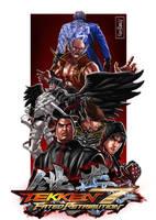 Tekken 7 Fanart Illustration 5 (Mishimas) by Raydash30