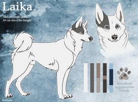 CharacterSheet - Laika by BlueHunter