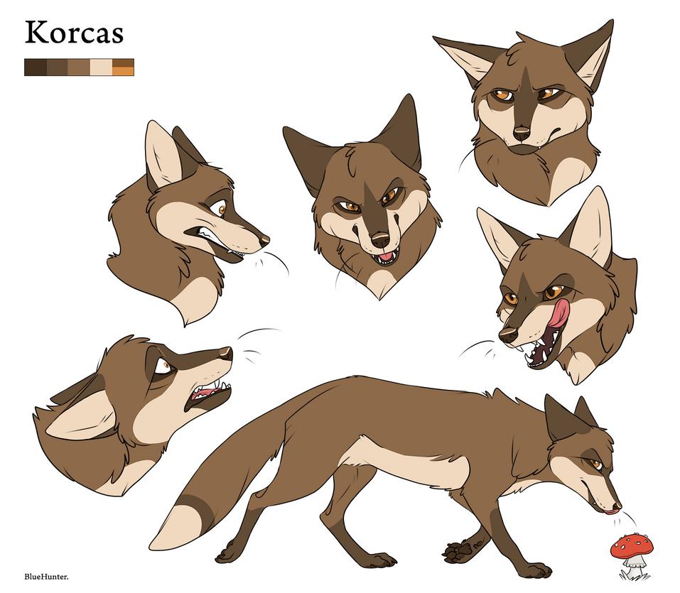 Character Sheet - Korcas by BlueHunter