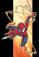 Color Spidey Commish by Jonboy007007