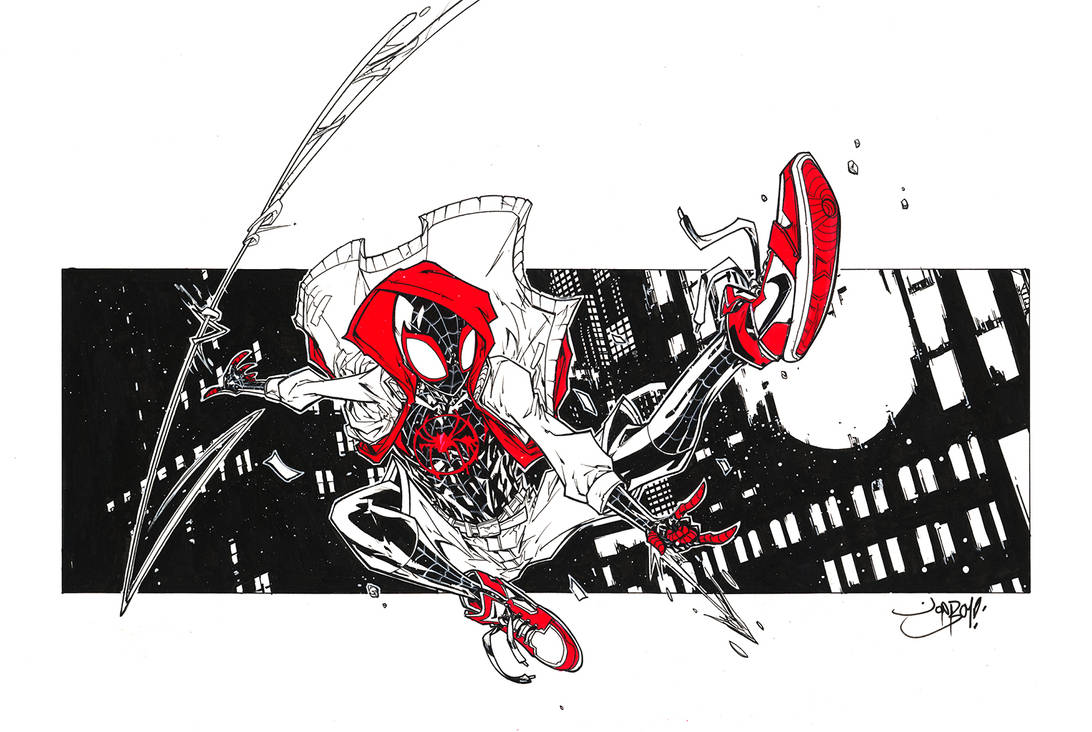 Miles Morales Spiderman! by Jonboy007007