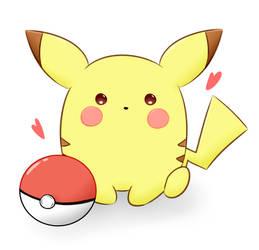 Pikachu by Sparkheart1
