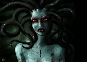 Gorgon the insatiable appetite by andre-ma