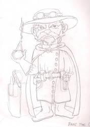 Dave the Gnome (sketch) by crashmurdoch
