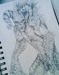 Deathclaw by Kay-Ra