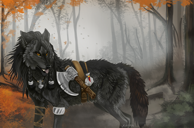 Autumn hunting by Kay-Ra