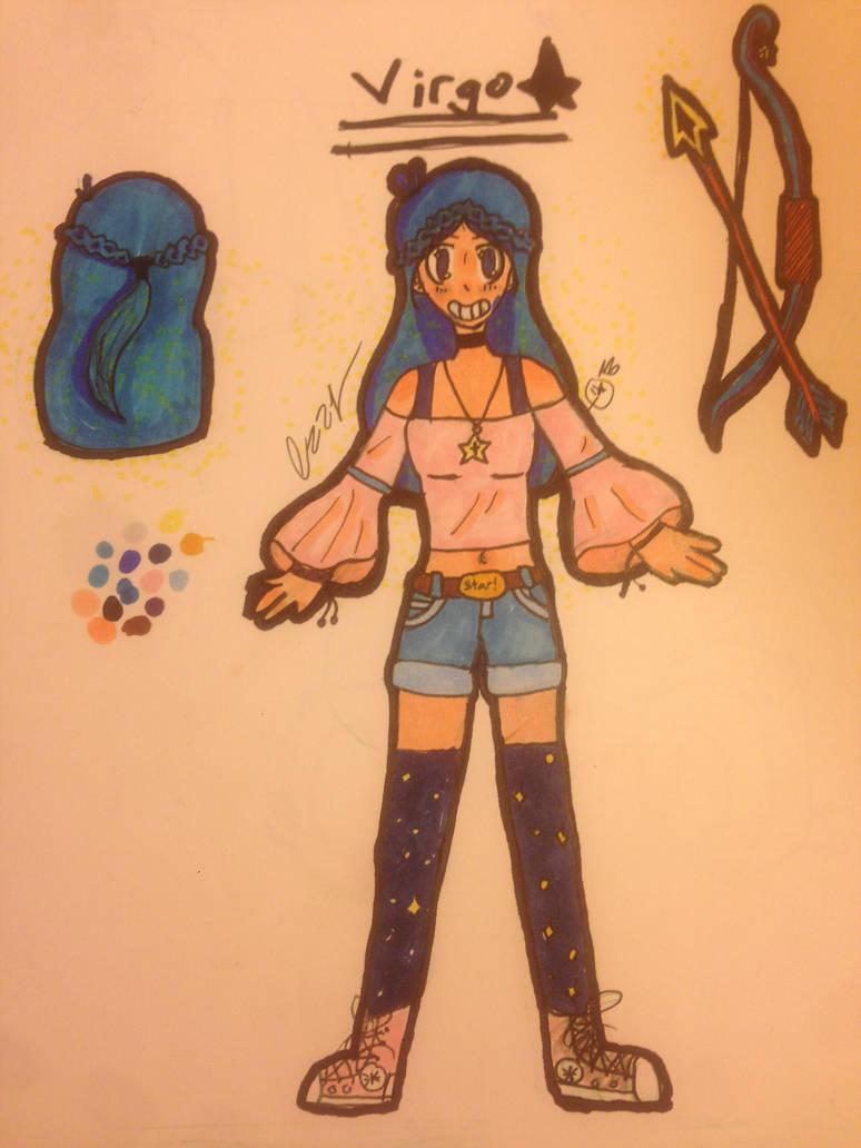 Virgo the star girl by CharaDreemurr8