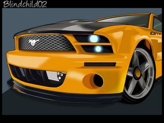 Mustang GTR by Blindchild02 by blindchild02