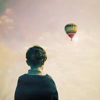 If the dream flies away by Julie-de-Waroquier