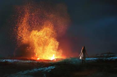 Bonfire by Julie-de-Waroquier
